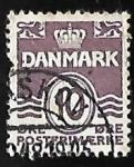 Sellos del Mundo : Europa : Dinamarca : Olas - numero 10