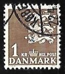 Sellos del Mundo : Europa : Dinamarca : Escudo de armas