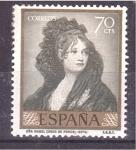 Sellos de Europa - España -  serie- Goya