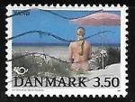 Stamps Denmark -  Playa en Fand Island