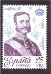 Sellos de Europa - España -  reyes de la casa borbon