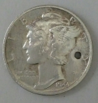 monedas de America - Estados Unidos -  1944 one dime