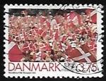 Stamps Denmark -  Victoria de football