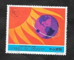Stamps : America : Paraguay :  Estudio sobre rayos solares