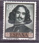 Stamps Spain -  Día del Sello- Velazquez