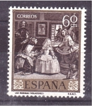 Stamps Spain -  día del sello- velazquez