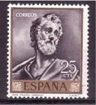 Sellos de Europa - España -  día del sello- el greco