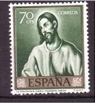 Stamps Spain -  día del sello- el greco