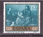 Sellos de Europa - España -  día del sello- murillo