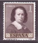Stamps Spain -  día del sello- murillo