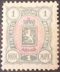 Stamps Europe - Finland -  Finlandia-Administración Rusa-1889/95