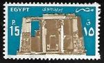 Stamps Egypt -  Temple of Horus, Edfu