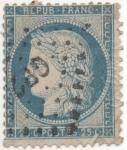 Stamps France -  Scott Nº 58