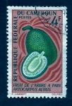 Stamps Cameroon -  Fruto del arbol del pan