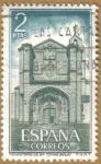 Sellos de Europa - España -  Monasterio de Sto. Tomas, AVILA - Fachada