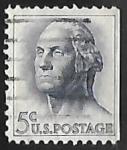 Sellos de America - Estados Unidos -  George Washington,