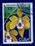 sello : America : Cuba : Orquidea cubana