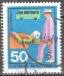 Sellos de Europa - Alemania -  Ayuda Técnica- accidente de tráfico.