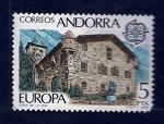 Sellos de Europa - España -  Casa de la VALL