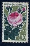 Stamps France -  Flor  Rosa