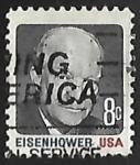 Sellos de America - Estados Unidos -  Einsenhower