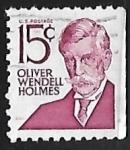 Sellos de America - Estados Unidos -  Oliver Wendell Holmes,