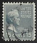 Stamps United States -  James Buchanan