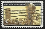 Stamps United States -  Dag Hammarskjöld