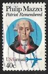 Stamps United States -  Philip Mazzei