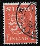 Sellos del Mundo : Europa : Finlandia : Finlandia-cambio