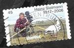 Sellos de Europa - Alemania -  Heinz Sielmann, director de cine