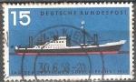 Sellos de Europa - Alemania -  Dia de los barcos mercantes alemanes.