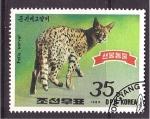 Sellos de Asia - Corea del norte -  serval