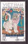 Stamps Vietnam -  el año del tigre