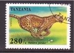 Sellos de Africa - Tanzania -  serie- felinos