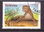 Stamps Tanzania -  serie- Felinos