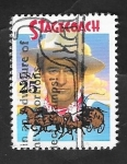 Stamps United States -  1893 - John Wayne, en Stagecoach