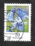 sello : Europa : Alemania : 3100 - Flor Hasenglöckchen