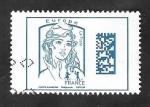 Sellos de Europa - Francia -  5019 - Marianne de Ciappa y Kawena