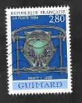 Sellos de Europa - Francia -  2855 - Guimard