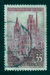 Stamps France -  Catedral de Rouen