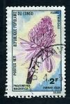 Sellos de Africa - República del Congo -  Flor tropical