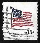 Sellos de America - Estados Unidos -  Bandera del fuerte McHenry