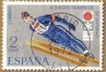 Sellos de Europa - España -  XI JJOO. Invierno Sapporo, Salto