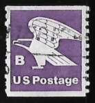 Stamps United States -  Letra B