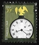 Stamps United States -  American Clock