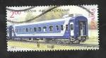 Sellos de Europa - Ucrania -  1087 - Vagón de pasajeros