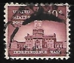 Stamps United States -  Independence Hall