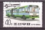 Sellos de Asia - Corea del norte -  serie- Transportes públicos