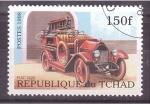 Stamps Poland -   camión de bombero